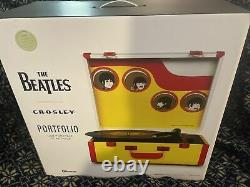 2021 Exclusive Record Store Day THE BEATLES Turntable CROSLEY Yellow Submarine