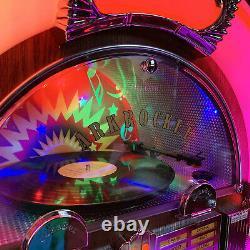 Arkrocket Jukebox Vinyl Record Player Bluetooth CD Full Size SATURN V Taurus II