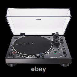 Audio Technica AT-LP120XBT-USB US Black Bluetooth Turntable Record Player