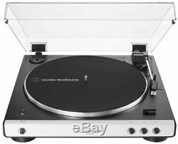 Audio-Technica AT-LP60XBT Bluetooth Turntable Record Player AT-LP60X BT White