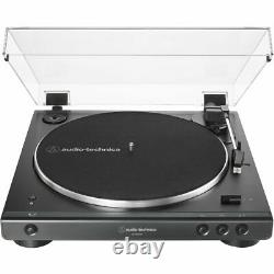 Audio Technica AT-LP60XBT-USB-BK Automatic Stereo Turntable + Record Brush + Acc