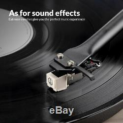 Bluetooth Vintage Record Player Vinyl Turntable 2 Speed with Stereo Speaker