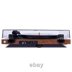 Bluetooth Wireless Turntable Hi-Fi System HiAudio Phonograph Vinyl Record Player