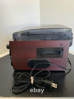Boytone BT 22C Bluetooth CD Record Cassette Turntable AM/FM Player Fully Tested