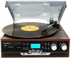 Boytone BT-37M-C Record Player Turntable USB Send Audio to Bluetooth Speaker New