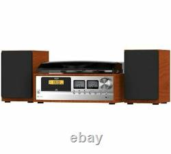Bush Classic Micro Combo Record Player with CD Bluetooth FM (A-) + WARRANTY
