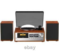 Bush Classic Micro Combo Record Player with CD Bluetooth FM (B+) + WARRANTY