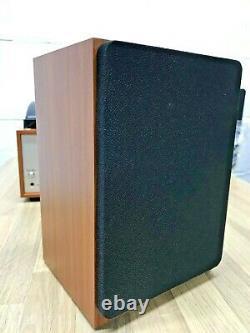 Bush Classic Turntable Vinyl Record Player Retro Bluetooth Speaker FM Radio Wood