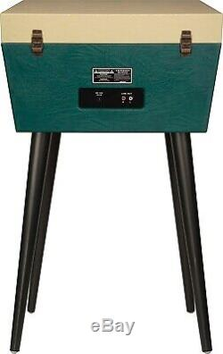 CROSLEY CR6231D-GR Dansette Sterling Green Turntable Record Player withBluetooth