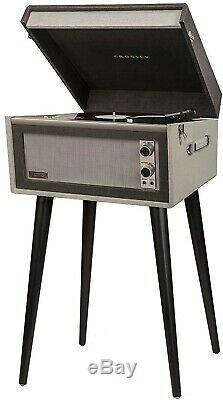 CROSLEY CR6233D-BK Dansette Bermuda Deluxe Turntable Black Record Player NEW