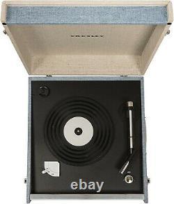CROSLEY CR6233D-TN Dansette Bermuda Deluxe Turntable Tourmaline Record Player