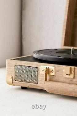 CROSLEY VINYL RECORD PLAYER CRUISER with BLUETOOTH Wood Effect TURNTABLE NEW