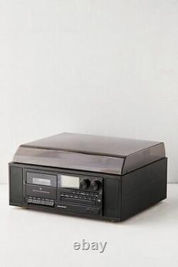CROSLEY VINYL RECORD PLAYER / TAPE / RADIO RIDGEMONT with BLUETOOTH TURNTABLE N