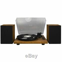 Crosley C62A-WA 2 Speed Bluetooth Turntable Record Player with Speakers Brand New