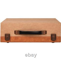 Crosley CR8018A-DD Momento Portable 3 Speed Bluetooth Record Player Desert
