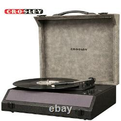 Crosley CR8018A-MN Momento Portable 3 Speed Bluetooth Record Player Midnight