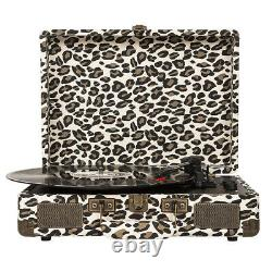 Crosley Deluxe 3-Speed Record Player Stereo Portable Turntable Bluetooth Speaker