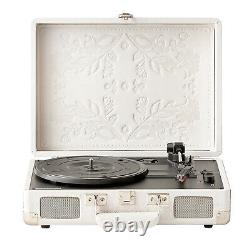 Crosley Record Player Deluxe 3-Speed Turntable Speaker Stereo Bluetooth Portable