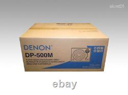 DENON DP-500-M analog record player wooden finish from Japan DHL Fast Ship NEW