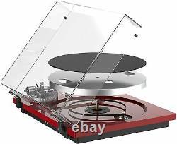 DIGITNOW High Fidelity Belt Drive Bluetooth Turntable Vinyl Record Player