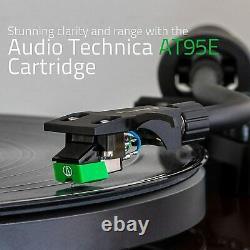 Fluance RT81 Elite HiFi Vinyl Turntable Record Player Audio Technica Cartridge