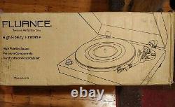 Fluance Rt81 HiFi Vinyl Turntable Record Player Audio Technica Cartridge