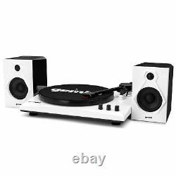 Gemini TT-900B Turntable Vinyl Record Player with Bluetooth & Dual Stereo