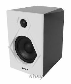Gemini TT-900BW Vinyl Record Player Turntable+Dual Bluetooth Speakers+Headphones