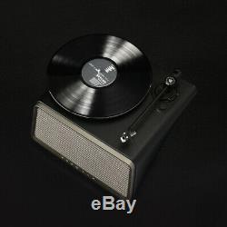 HYM SEED Belt Drive Turntable Vinyl Turntable Record Player 80W HiFi Speaker