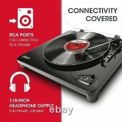 ION Audio Air LP Vinyl Record Player / Bluetooth Turntable with USB Output