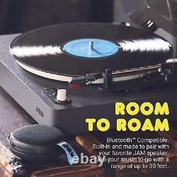 Jam Spun Out Bluetooth Turntable, Vinyl Record Player