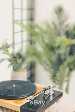 Jasmine MORE Belt Drive Turntable Vinyl Record Player HiFi Turntable Hi-end