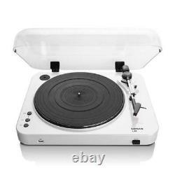 Lenco L-85 USB Vinyl Record Player Turntable White