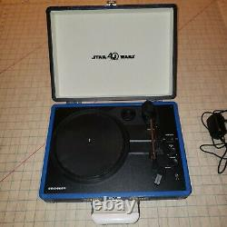 Limited Edition Star Wars Bluetooth Record Player Turntable 40th cr8005d-sw