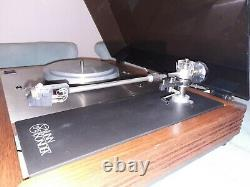 Linn Sondek LP12 1983 dark lid Record Player Turntable good working order