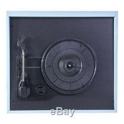 Madison Turntable Record Player Built in Speaker Retro Case on 4 Legs HIFI Sound