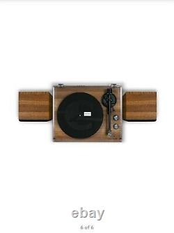 NEW Crosley C62 2 Speed Bluetooth Turntable Record Player with Speakers