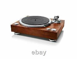 NEW DENON Analogue record player wooden DP 500M Direct Drive Turntable Japan F/S