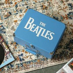 New old style 1964 BEATLES Anthology Bluetooth Crosley 3 speed record player