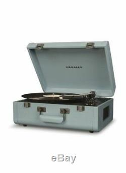 New retro Tourmaline Crosley vinyl record player PORTFOLIO Bluetooth turntable
