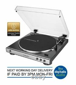 OPEN BOX Audio-Technica AT-LP60XUSB Automatic Turntable Record Player