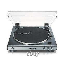 OPEN BOX Audio-Technica AT-LP60XUSB Fully Automatic Turntable USB Record Player