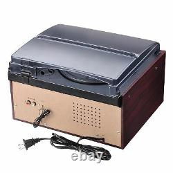 Premium Vinyl Record Player WithTurntable Speaker System Vintage Wireless Stereo