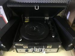 Pyle vintage home retro Bluetooth record player with vinyl to mp3 recording