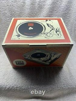RSD3 Mini Three Inch Turntable by Crosley Bundle with Post Malone Records