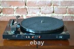 Record Player Hi-Res Bluetooth Turntable System & Stereo Speakers, Black T100-D