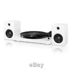 Record Player Turntable Bluetooth DJ Victrola Modern Speakers Wireless Audio