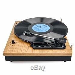 Record Player, VIFLYKOO Bluetooth Portable Vinyl Turntable and Digital Encoder