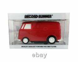 Record Runner Record Player Volkswagen Bus Red Stokyo Japan VW Camper Blue Tooth