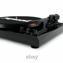 Refurbed Gemini Bluetooth Vinyl Record Player Stereo Systems Turntable Speakers
